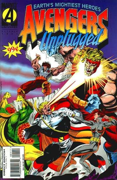 Avengers Unplugged #1 comic books - cover scans photos Avengers Unplugged #1 comic books - covers, picture gallery