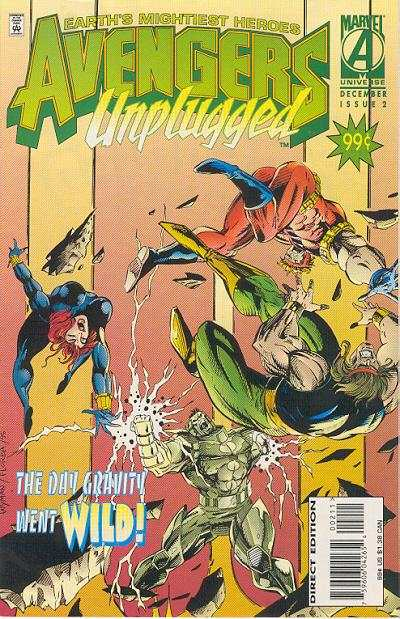 Avengers Unplugged #2 comic books - cover scans photos Avengers Unplugged #2 comic books - covers, picture gallery