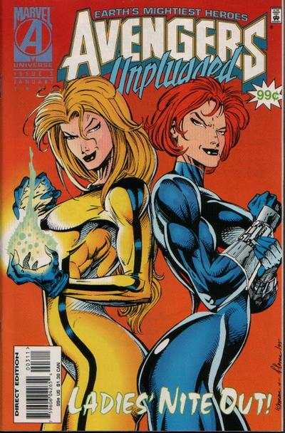 Avengers Unplugged #3 comic books - cover scans photos Avengers Unplugged #3 comic books - covers, picture gallery