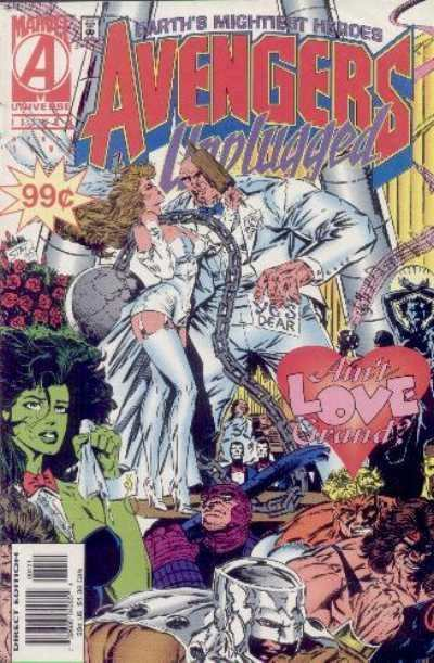 Avengers Unplugged #4 Comic Books - Covers, Scans, Photos  in Avengers Unplugged Comic Books - Covers, Scans, Gallery
