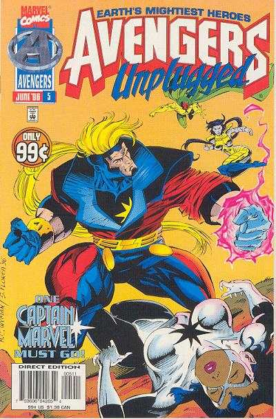 Avengers Unplugged #5 comic books - cover scans photos Avengers Unplugged #5 comic books - covers, picture gallery