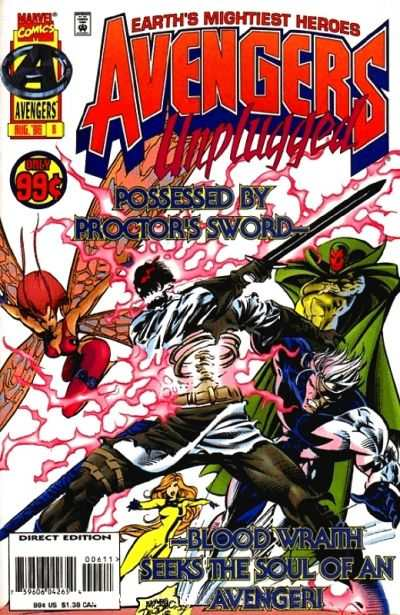 Avengers Unplugged #6 comic books - cover scans photos Avengers Unplugged #6 comic books - covers, picture gallery
