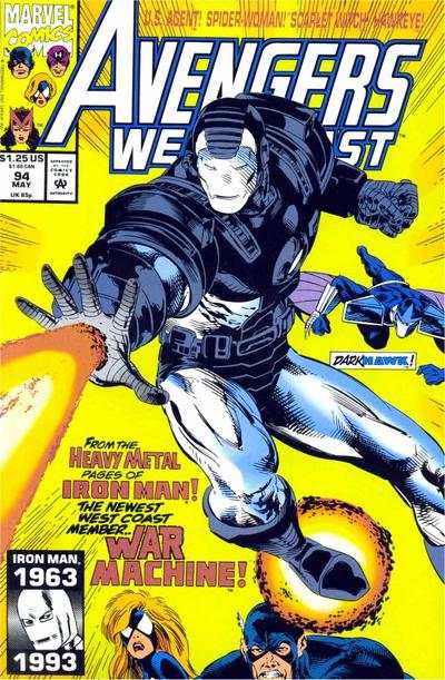 Avengers West Coast #94 comic books for sale