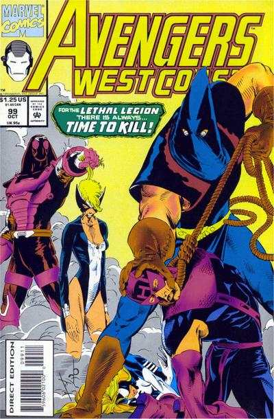 Avengers West Coast #99 comic books - cover scans photos Avengers West Coast #99 comic books - covers, picture gallery