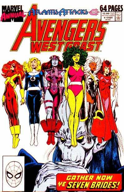 Avengers West Coast #4 comic books for sale