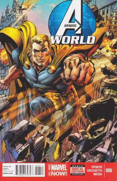 Avengers World #6 comic books - cover scans photos Avengers World #6 comic books - covers, picture gallery