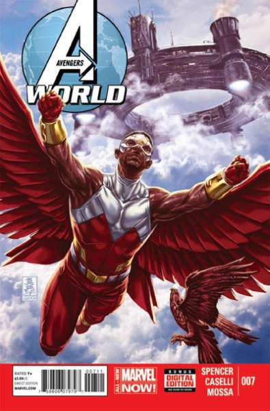 Avengers World #7 comic books - cover scans photos Avengers World #7 comic books - covers, picture gallery