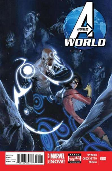 Avengers World #8 comic books - cover scans photos Avengers World #8 comic books - covers, picture gallery