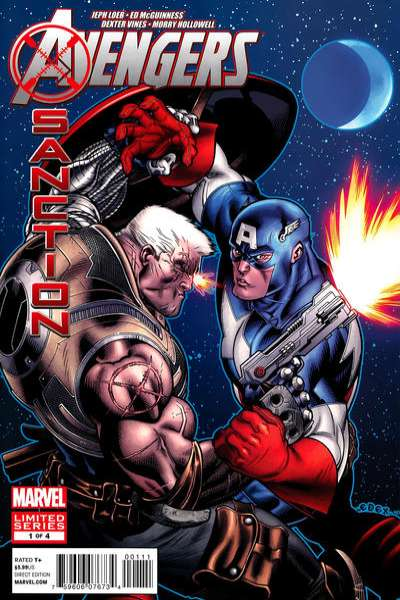 Avengers X-Sanction comic books