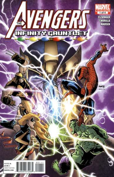 Avengers & the Infinity Gauntlet #1 Comic Books - Covers, Scans, Photos  in Avengers & the Infinity Gauntlet Comic Books - Covers, Scans, Gallery
