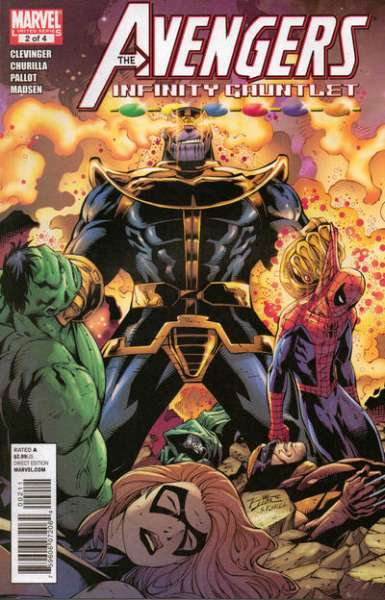 Avengers & the Infinity Gauntlet #2 Comic Books - Covers, Scans, Photos  in Avengers & the Infinity Gauntlet Comic Books - Covers, Scans, Gallery
