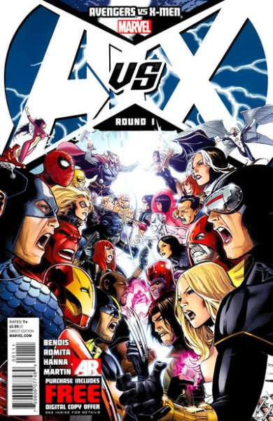 Avengers vs. X-Men #1 Comic Books - Covers, Scans, Photos  in Avengers vs. X-Men Comic Books - Covers, Scans, Gallery