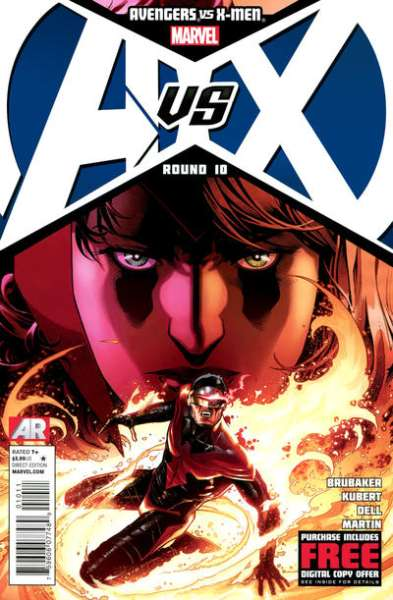 Avengers vs. X-Men #10 Comic Books - Covers, Scans, Photos  in Avengers vs. X-Men Comic Books - Covers, Scans, Gallery