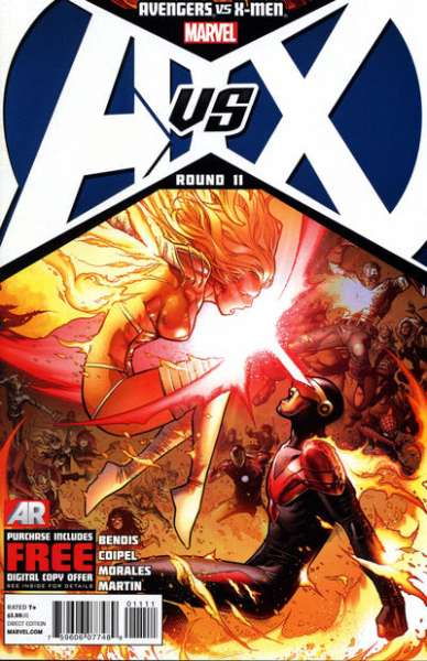 Avengers vs. X-Men #11 comic books - cover scans photos Avengers vs. X-Men #11 comic books - covers, picture gallery