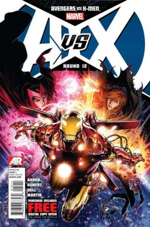 Avengers vs. X-Men #12 comic books - cover scans photos Avengers vs. X-Men #12 comic books - covers, picture gallery