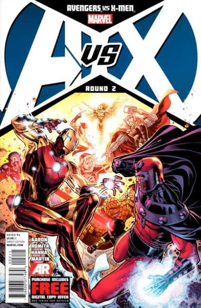 Avengers vs. X-Men #2 Comic Books - Covers, Scans, Photos  in Avengers vs. X-Men Comic Books - Covers, Scans, Gallery