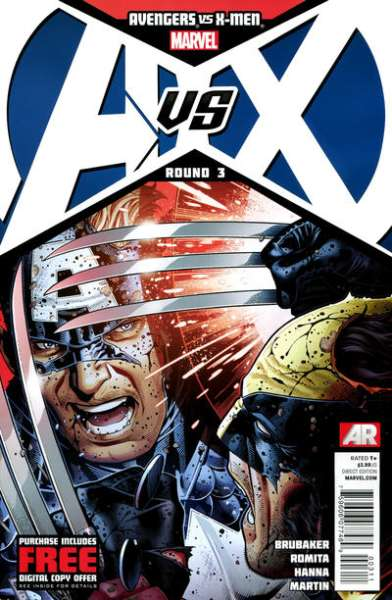 Avengers vs. X-Men #3 Comic Books - Covers, Scans, Photos  in Avengers vs. X-Men Comic Books - Covers, Scans, Gallery