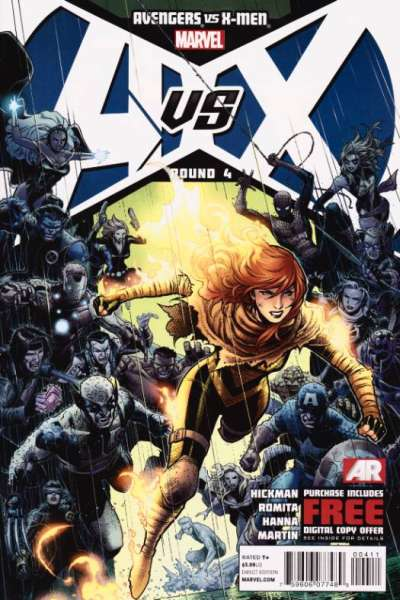 Avengers vs. X-Men #4 Comic Books - Covers, Scans, Photos  in Avengers vs. X-Men Comic Books - Covers, Scans, Gallery