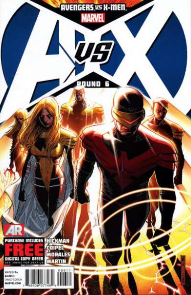 Avengers vs. X-Men #6 Comic Books - Covers, Scans, Photos  in Avengers vs. X-Men Comic Books - Covers, Scans, Gallery