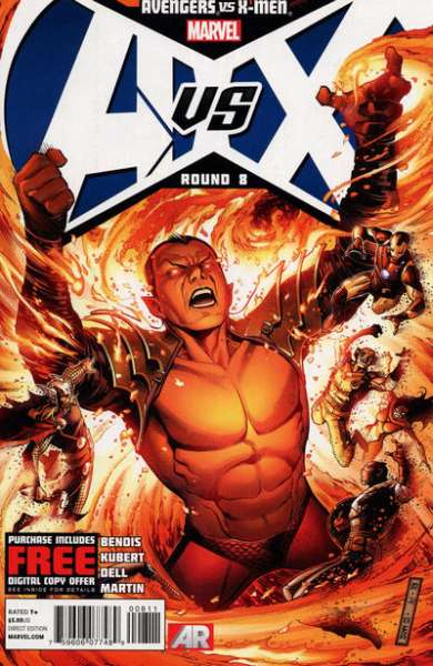 Avengers vs. X-Men #8 comic books - cover scans photos Avengers vs. X-Men #8 comic books - covers, picture gallery