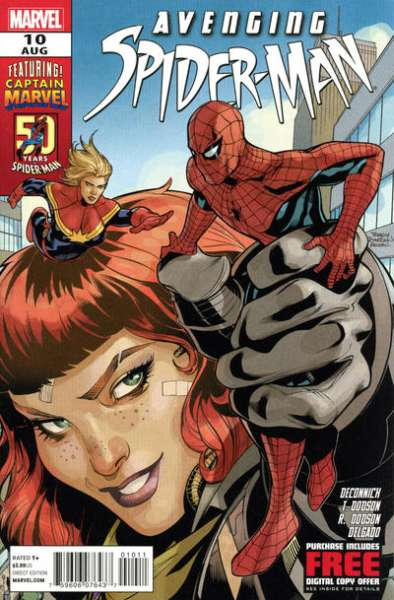 Avenging Spider-Man #10 Comic Books - Covers, Scans, Photos  in Avenging Spider-Man Comic Books - Covers, Scans, Gallery