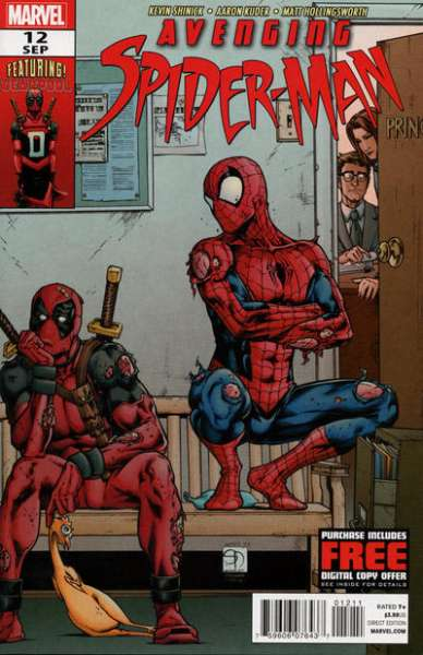 Avenging Spider-Man #12 Comic Books - Covers, Scans, Photos  in Avenging Spider-Man Comic Books - Covers, Scans, Gallery