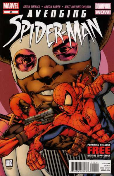 Avenging Spider-Man #13 Comic Books - Covers, Scans, Photos  in Avenging Spider-Man Comic Books - Covers, Scans, Gallery