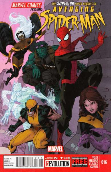 Avenging Spider-Man #16 comic books - cover scans photos Avenging Spider-Man #16 comic books - covers, picture gallery