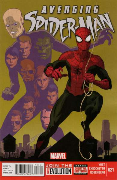 Avenging Spider-Man #21 comic books - cover scans photos Avenging Spider-Man #21 comic books - covers, picture gallery