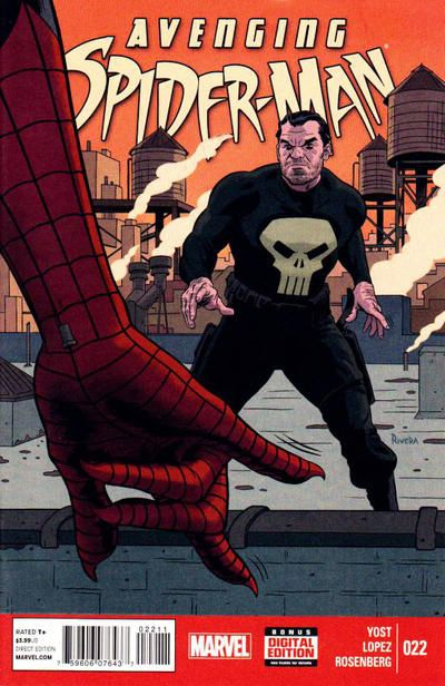 Avenging Spider-Man #22 comic books - cover scans photos Avenging Spider-Man #22 comic books - covers, picture gallery