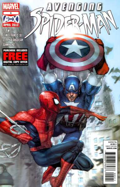Avenging Spider-Man #5 Comic Books - Covers, Scans, Photos  in Avenging Spider-Man Comic Books - Covers, Scans, Gallery
