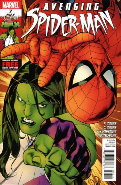 Avenging Spider-Man #7 comic books - cover scans photos Avenging Spider-Man #7 comic books - covers, picture gallery