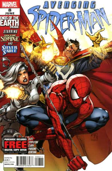 Avenging Spider-Man #8 comic books - cover scans photos Avenging Spider-Man #8 comic books - covers, picture gallery