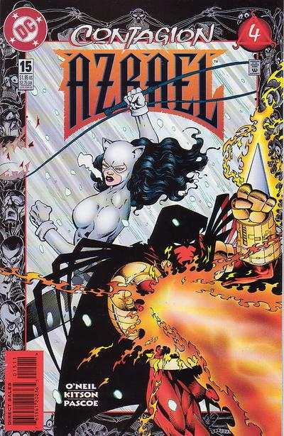 Azrael #15 comic books for sale