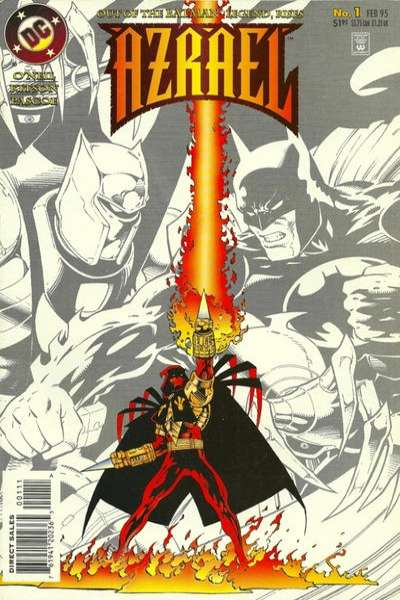 Azrael comic books