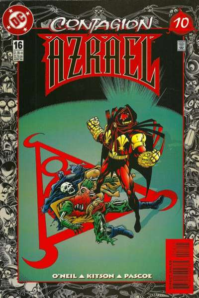 Azrael #16 comic books for sale