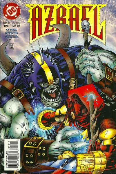 Azrael #18 comic books for sale