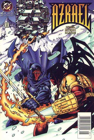 Azrael #4 comic books for sale