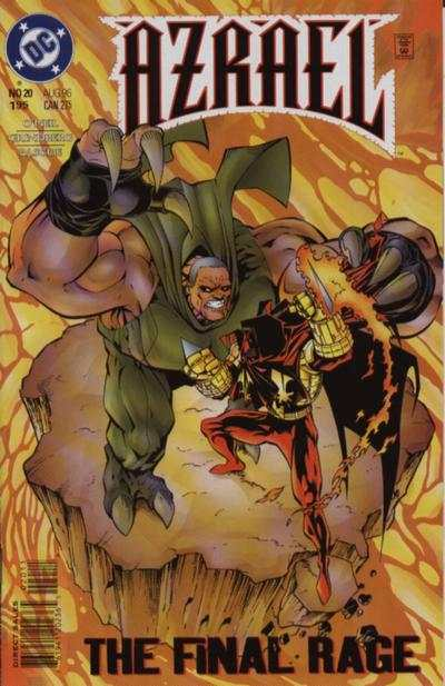 Azrael #20 comic books for sale