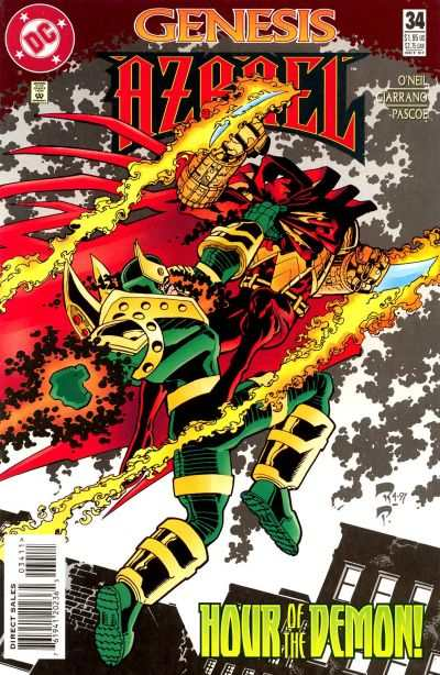 Azrael #34 comic books for sale