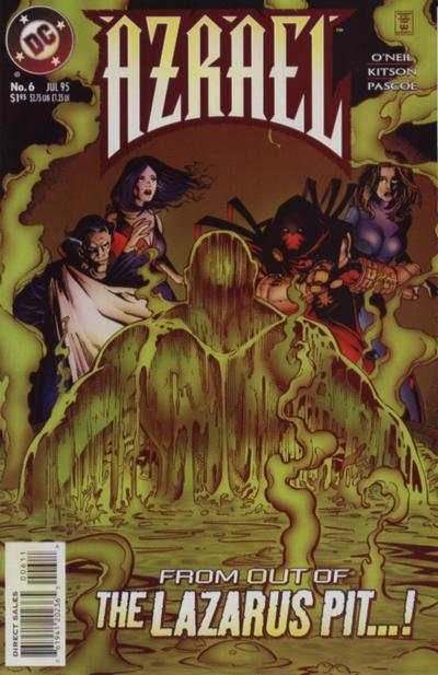Azrael #6 comic books for sale