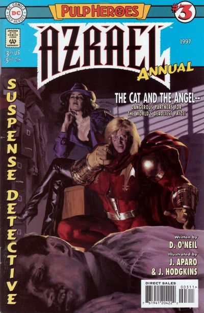 Azrael #3 comic books - cover scans photos Azrael #3 comic books - covers, picture gallery