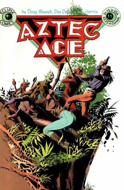 Aztec Ace #11 comic books - cover scans photos Aztec Ace #11 comic books - covers, picture gallery