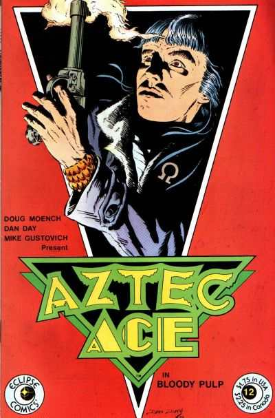 Aztec Ace #12 cheap bargain discounted comic books Aztec Ace #12 comic books