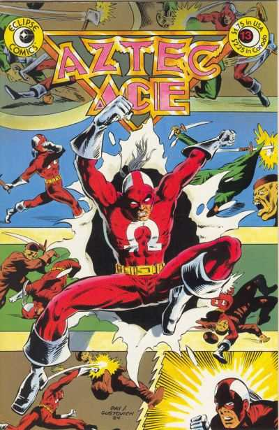 Aztec Ace #13 comic books - cover scans photos Aztec Ace #13 comic books - covers, picture gallery
