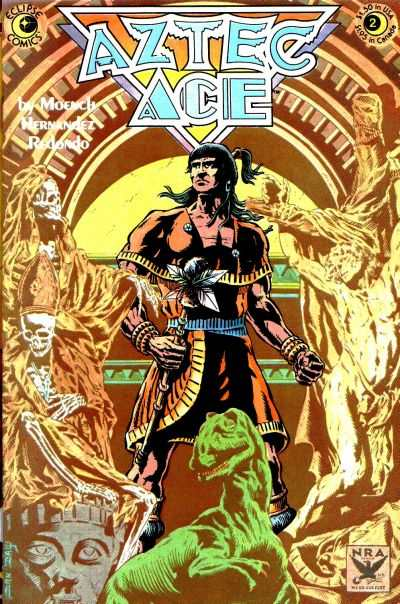 Aztec Ace #2 comic books - cover scans photos Aztec Ace #2 comic books - covers, picture gallery
