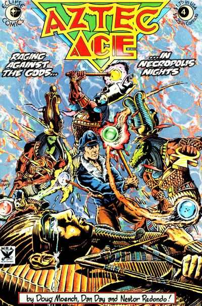 Aztec Ace #4 Comic Books - Covers, Scans, Photos  in Aztec Ace Comic Books - Covers, Scans, Gallery