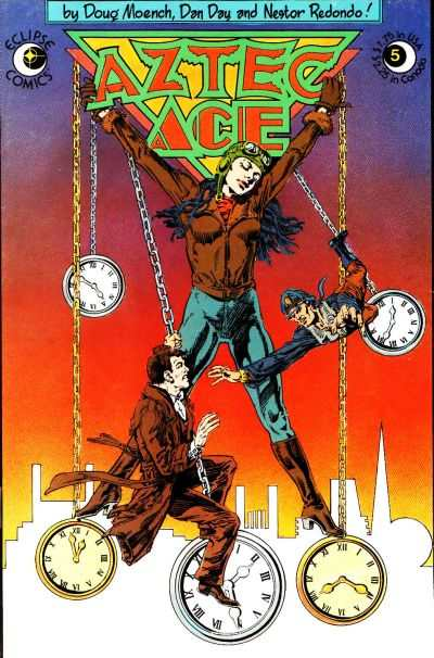 Aztec Ace #5 Comic Books - Covers, Scans, Photos  in Aztec Ace Comic Books - Covers, Scans, Gallery