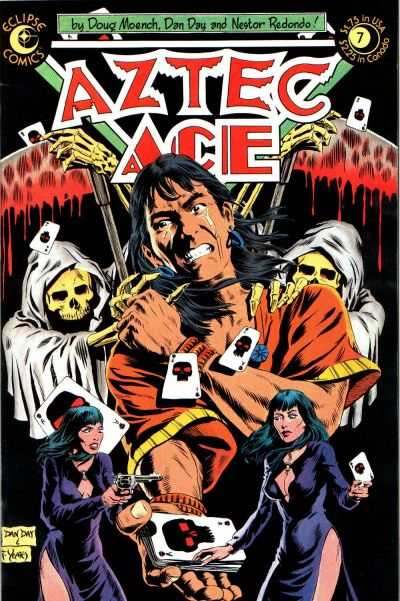 Aztec Ace #7 comic books - cover scans photos Aztec Ace #7 comic books - covers, picture gallery