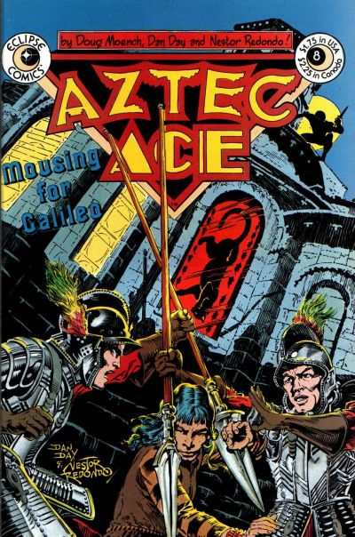 Aztec Ace #8 Comic Books - Covers, Scans, Photos  in Aztec Ace Comic Books - Covers, Scans, Gallery